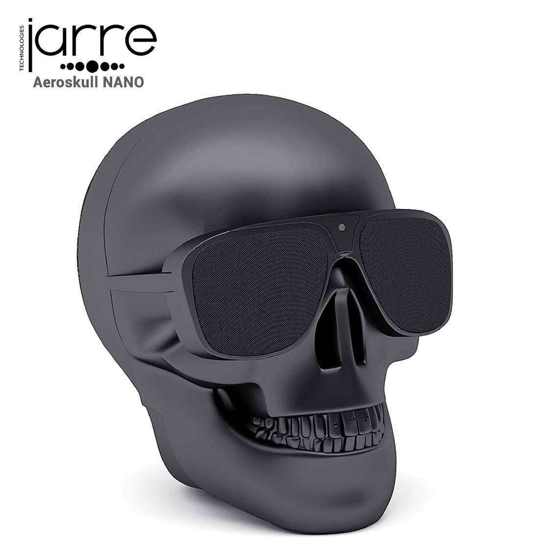 JARRE Enceinte Bluetooth, [AeroSkull Nano] Black Mate