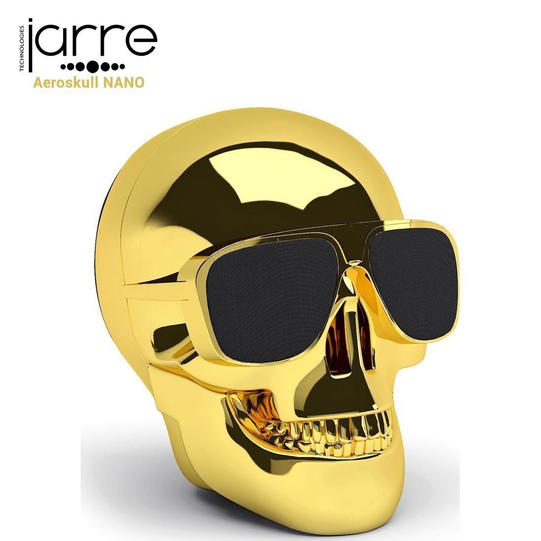 JARRE Enceinte Bluetooth, [AeroSkull Nano] Gold