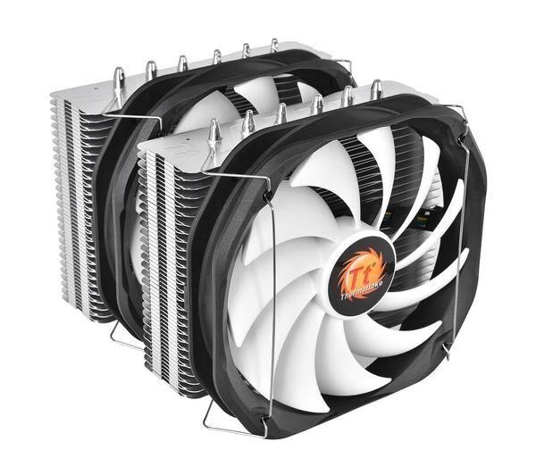 THERMALTAKE Ventilateur processeur Frio Extreme Silent 14 Dual pour Intel et AMD - TDP jusqu'? 240W