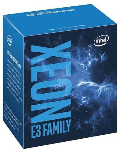 INTEL Xeon ® ® Processor E3-1245 v6 (8M Cache, 3.70 GHz) 3.7GHz 8Mo Smart Cache Boîte processeur