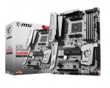 MSI X370 XPOWER GAMING TITANIUM AMD X370 Socket AM4 ATX