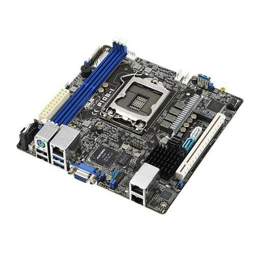 ASUS P10S-I serveur/ station d'accueil carte mère LGA 1151 (Emplacement H4) Intel® C232 Mini-ITX