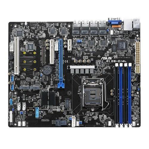 ASUS P10S-C/4L serveur/ station d'accueil carte mère LGA 1151 (Emplacement H4) Intel® C232 ATX