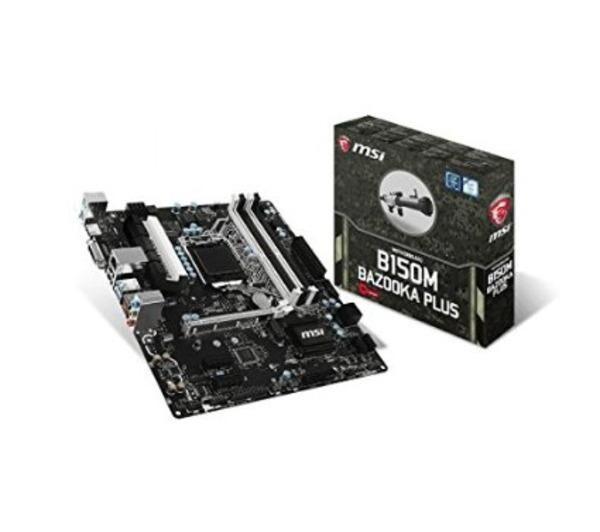 MSI Carte mère B150M BAZOOKA PLUS Micro ATX Socket 1151 Intel B150 Express - SATA 6Gb/s + M.2 - USB 3.1 - 1x PCI-Express 3.0 16x