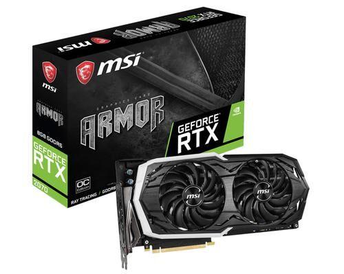 MSI V373-013R carte graphique GeForce RTX 2070 8 Go GDDR6