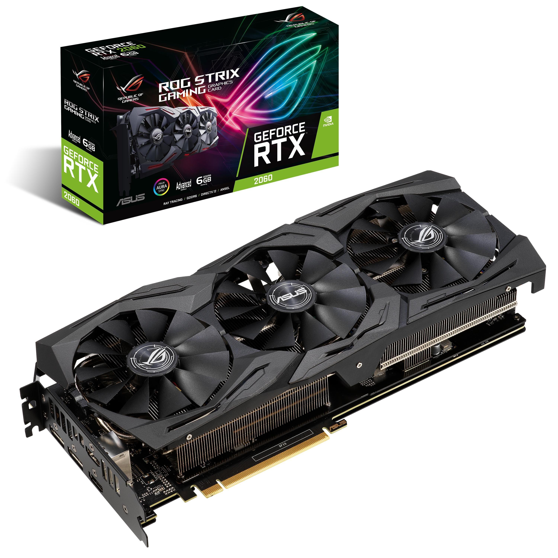 ASUS ROG -STRIX-RTX2060-A6G-GAMING GeForce RTX 2060 6 Go GDDR6