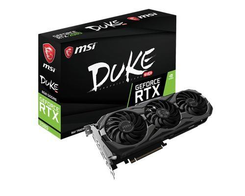 MSI GeForce-RTX-2080-DUKE-8G-OC GeForce RTX 2080 8 Go GDDR6
