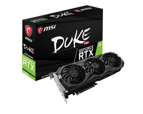 MSI GeForce-RTX-2080-DUKE-8G-OC GeForce RTX 2080 8 Go GDDR6