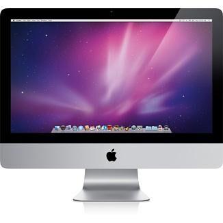 """APPLE iMac MB950LL/A PC tout en un/station de travail 54,6 cm (21.5"""") 1920 x 1080 pixels 3,06 GHz Intel® Core?2 Duo Argent, Blanc"""