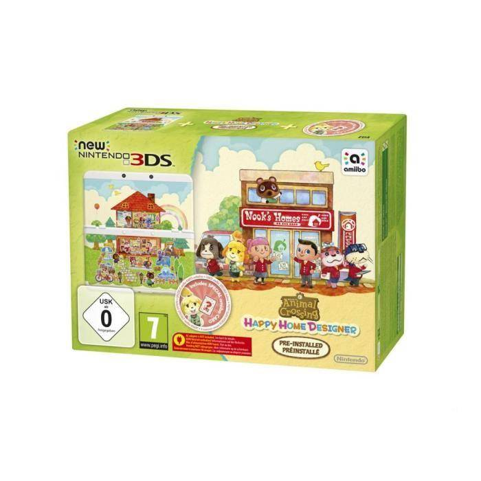 NINTENDO Console New 3DS + Animal Crossing