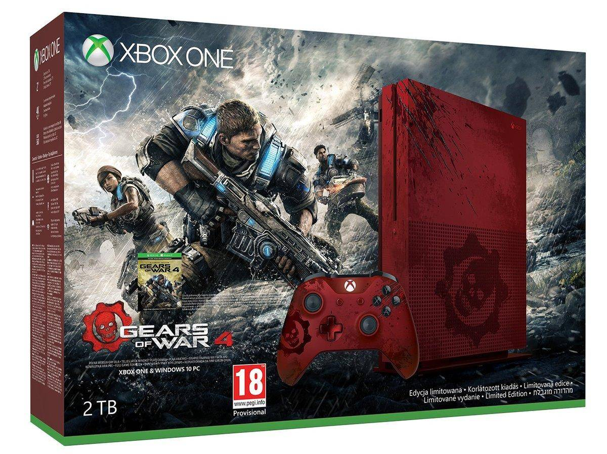 MICROSOFT Xbox One S 2 To Gears of War 4 Limited Edition