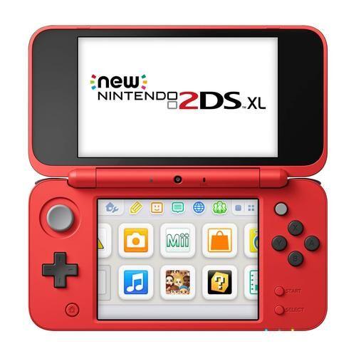"""NINTENDO New 2DS XL Poké Ball Edition console de jeux portables Noir, Rouge, Blanc 12,4 cm (4.88"""") Écran tactile Wifi"""