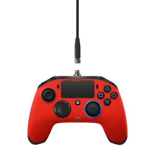 NACON PS4OFPADREVRED accessoire de jeux vidéo Manette de jeu PlayStation 4 Rouge