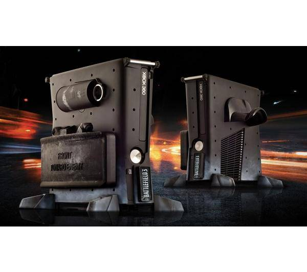CALIBUR 11 XBOX 360 Slim VAULT - Battlefield 3 Edition