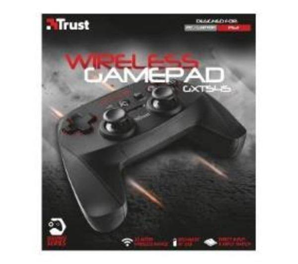 TRUST GXT 545 - Manette de jeu - 13 bouton(s) - sans fil - pour PC, Sony PlayStation 3