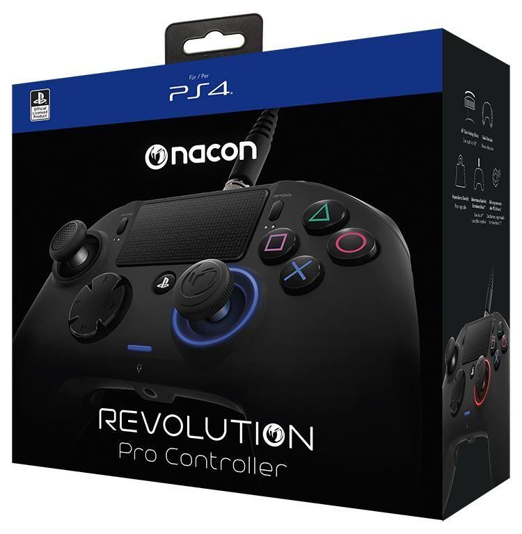 NACON Revolution Pro Manette de jeu PlayStation 4 Noir