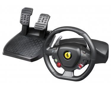 THRUSTMASTER Ferrari 458 Italia Roues+Pédales PC Noir