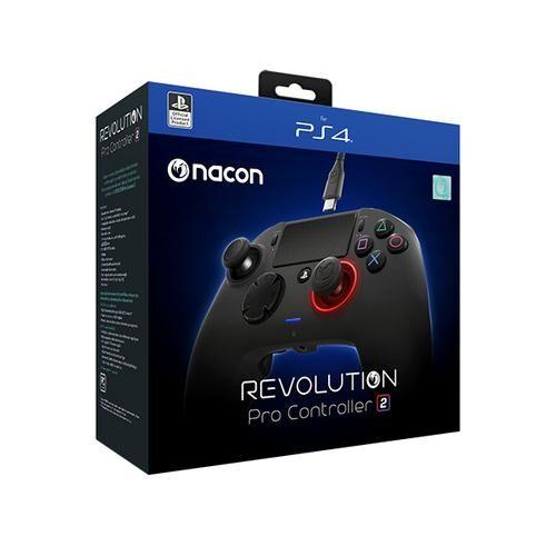 NACON Revolution Pro 2 Manette de jeu PC, PlayStation 4 Noir