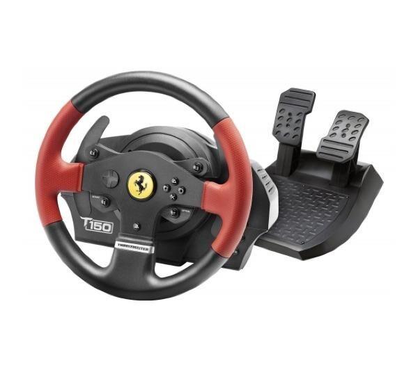 THRUSTMASTER Accessoires pour consoles T150 Ferrari Edition Lenkrad für PS4/PS3/PC
