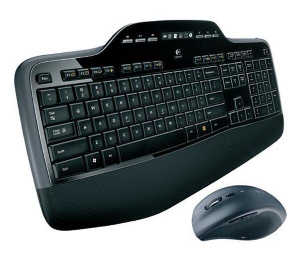 LOGITECH Ensemble clavier-souris sans fil MK710