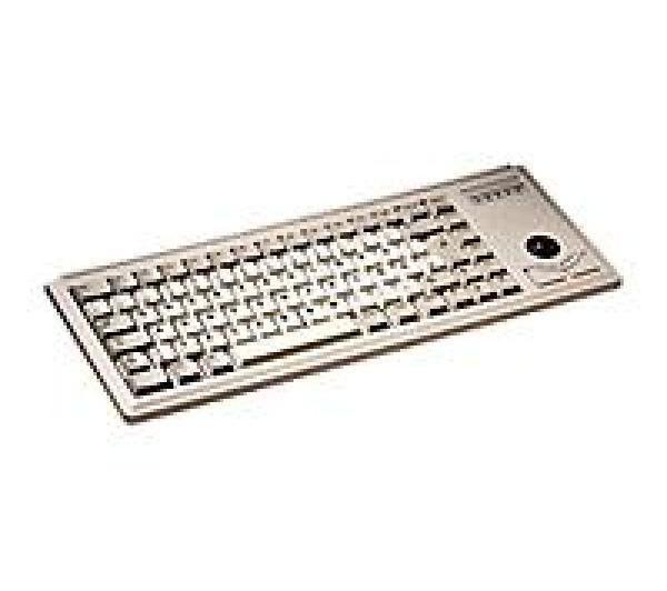 CHERRY Keyboard Azerty FR 83-keys PS/2 W9x+trackball (G84-4400LPBFR)