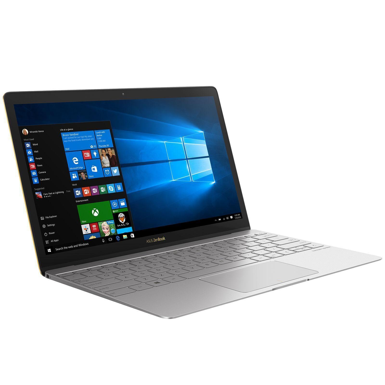 """ASUS ZenBook3U-GS099T 12"""" Core i7 8Go 512Go SSD"""