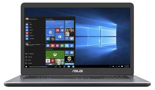 """ASUS VivoBook 17 X705UA-BX402T Gris Ordinateur portable 43,9 cm (17.3"""") 1600 x 900 pixels 2,00 GHz Intel® Core? i3 de 6e génération i3-6006U"""