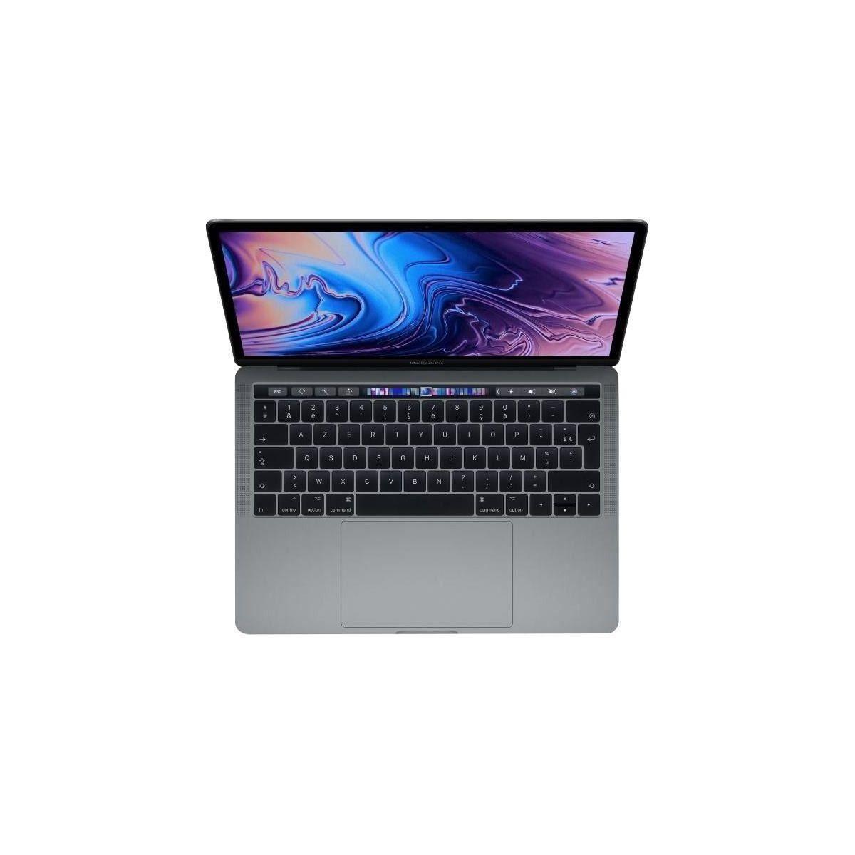 APPLE MacBook Pro MR9R2FN/A - 13,3 pouces Retina avec Touch Bar - Intel Core i5 - RAM 8Go - Stockage 512Go - Gris Sideral