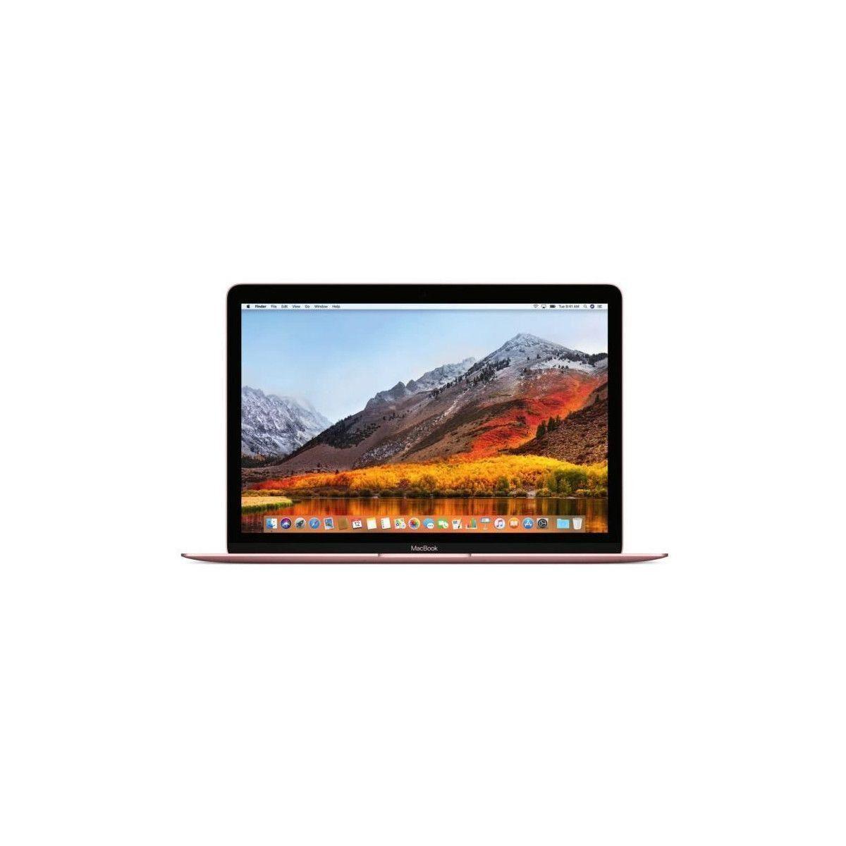 APPLE MacBook MNYN2FN/A - 12 pouces Retina - Intel Core i5 - RAM 8Go - Stockage 512Go SSD - Rose Gold