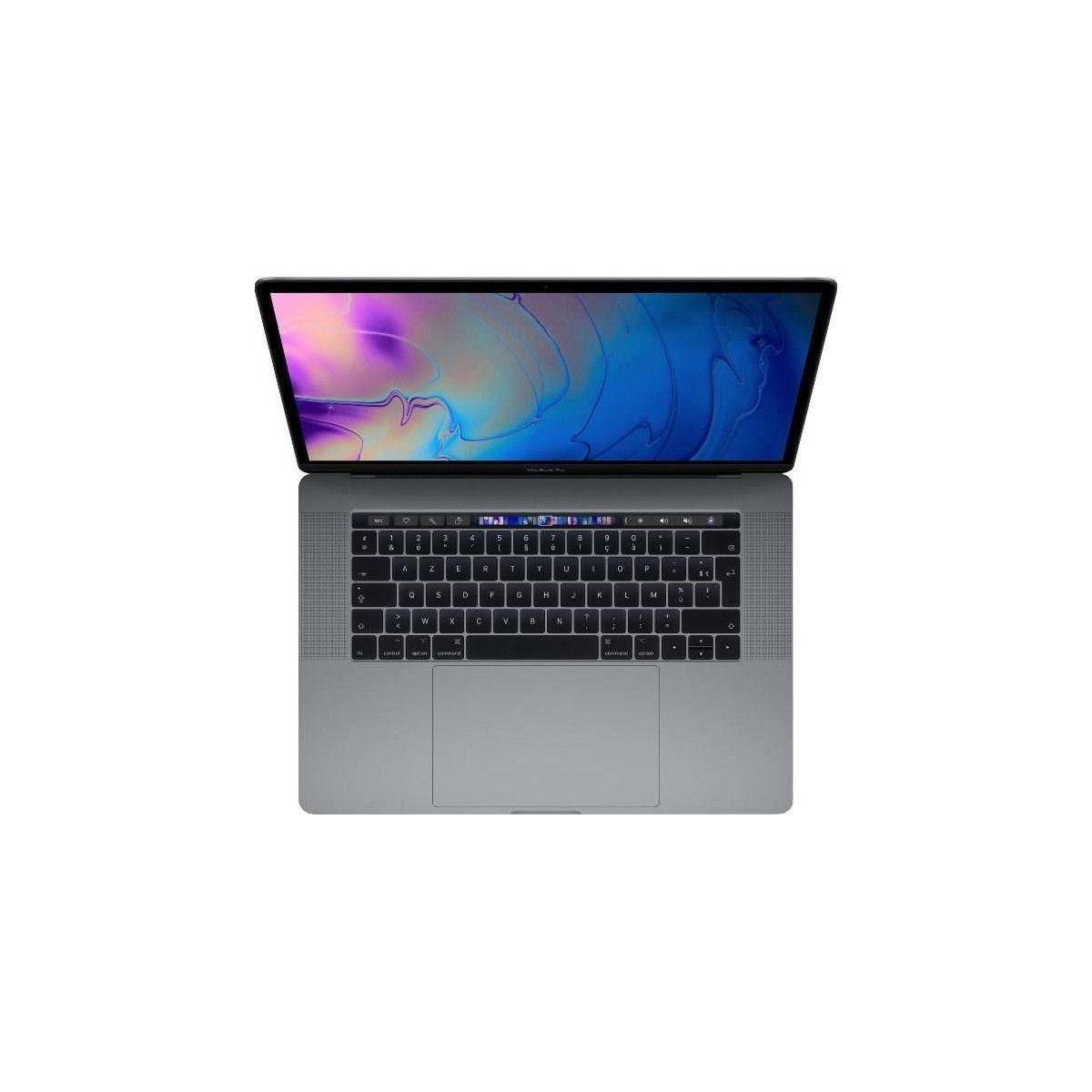 APPLE MacBook Pro MR942FN/A - 15,4 pouces Retina avec Touch Bar - Intel Core i7 - RAM 16Go - Stockage 512Go - Gris Sideral
