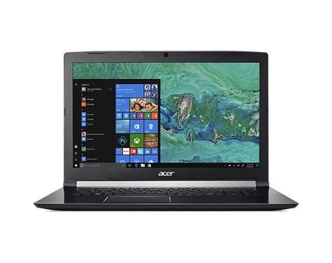 """ACER Aspire A717-72G-72KM Noir Ordinateur portable 43,9 cm (17.3"""") 1920 x 1080 pixels 2,20 GHz Intel® Core? i7 de 8e génération i7-8750H"""