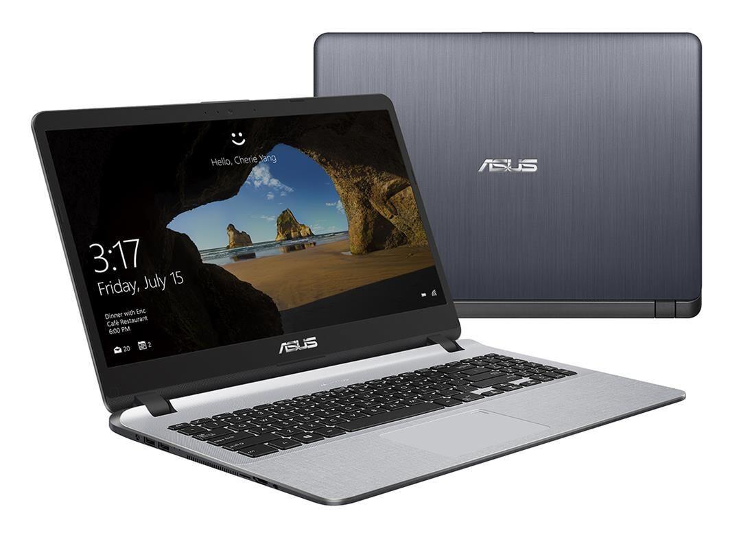 """ASUS F507UA-BR785T notebook Gris Ordinateur portable 39,6 cm (15.6"""") 2,3 GHz Intel® Core? i3 de 7e génération i3-7020U"""