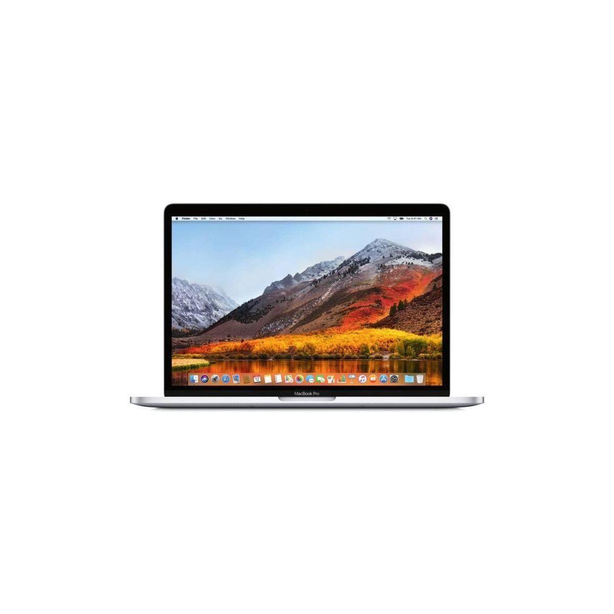 APPLE MacBook Pro MPXU2FN/A - 13,3 pouces Retina - Intel Core i5 - RAM 8Go - Stockage 256Go SSD - Argent