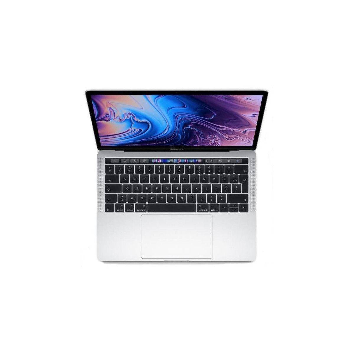 APPLE MacBook Pro MR9V2FN/A - 13,3 pouces Retina avec Touch Bar - Intel Core i5 - RAM 8Go - Stockage 512Go - Argent