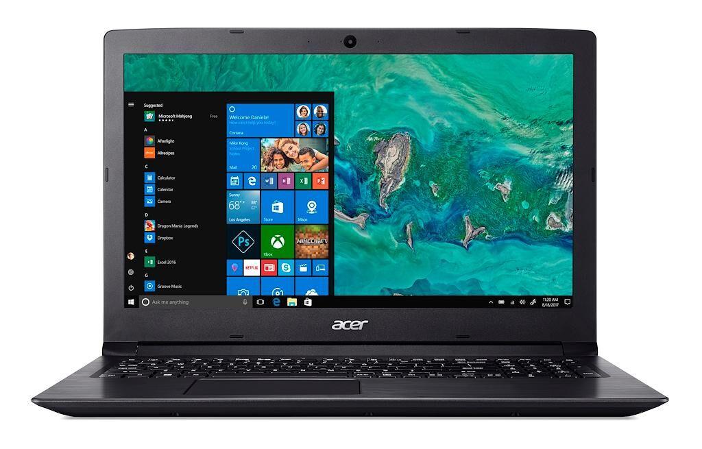 """ACER Aspire A315-53G-58W8 Noir Ordinateur portable 39,6 cm (15.6"""") 1366 x 768 pixels 2,50 GHz Intel® Core? i5 de 7e génération i5-7200U"""