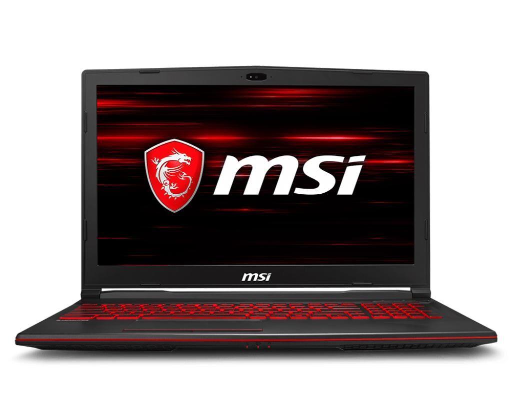 """MSI Gaming GL63 8RC-027IT notebook Noir Ordinateur portable 39,6 cm (15.6"""") 1920 x 1080 pixels 2,20 GHz Intel® Core? i7 de 8e génération i7-8750H"""