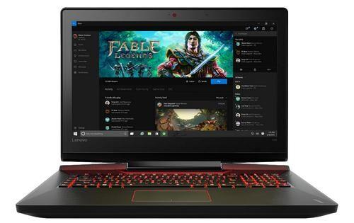 """LENOVO IdeaPad Y910-17 Noir, Rouge Ordinateur portable 43,9 cm (17.3"""") 1920 x 1080 pixels 2,7 GHz Intel® Core? i7 de 6e génération i7-6820HK"""