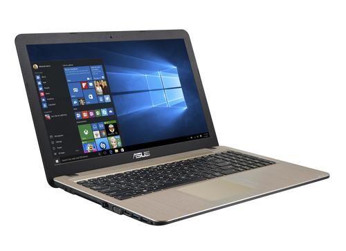"""ASUS X540NA-GQ017T notebook Noir, Chocolat Ordinateur portable 39,6 cm (15.6"""") 1,10 GHz Intel® Celeron® N3350"""