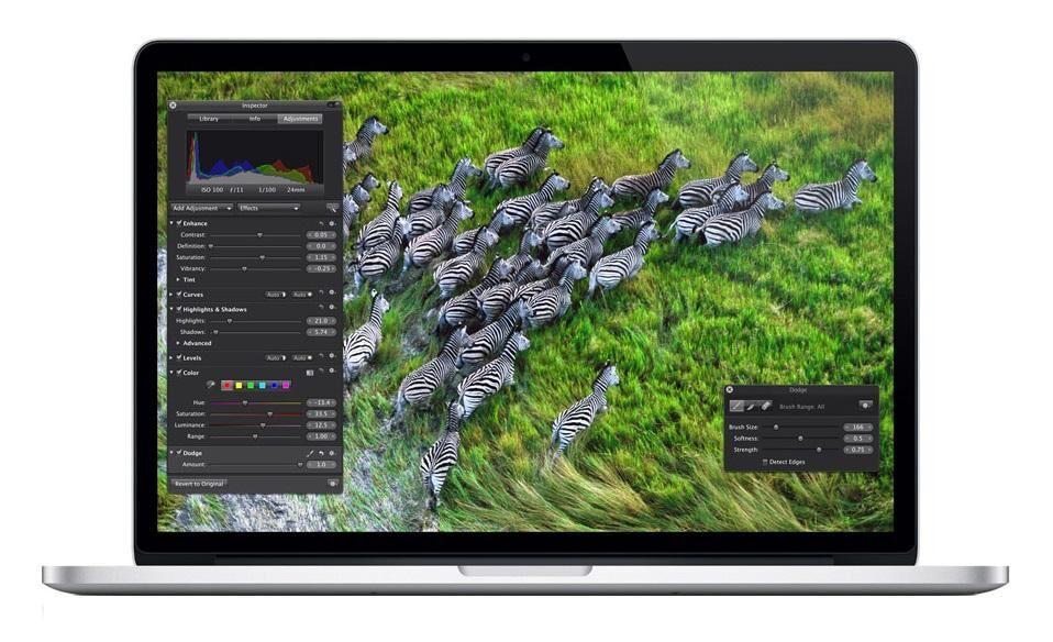 """APPLE MacBook Pro Argent Ordinateur portable 39,1 cm (15.4"""") 2880 x 1800 pixels 2,4 GHz Intel® Core? i7 de 3e génération i7-3635QM"""