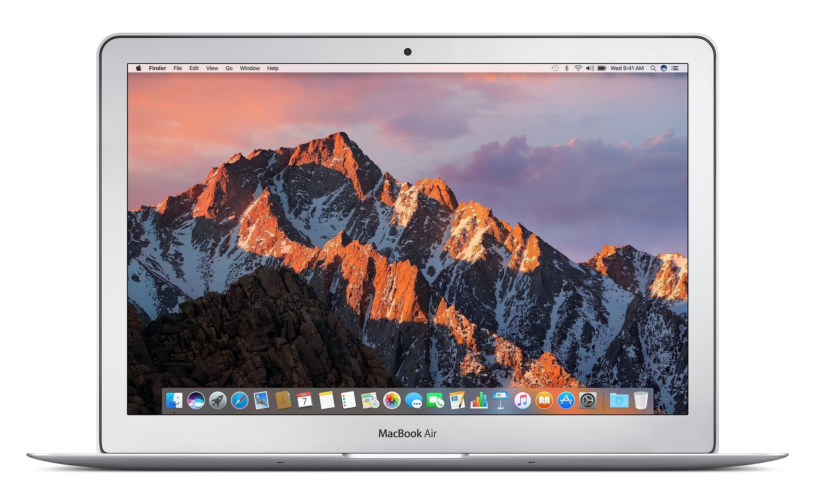 """APPLE MacBook Air Argent Ordinateur portable 33,8 cm (13.3"""") 1440 x 900 pixels 1,8 GHz Intel® Core? i5 de 5e génération"""