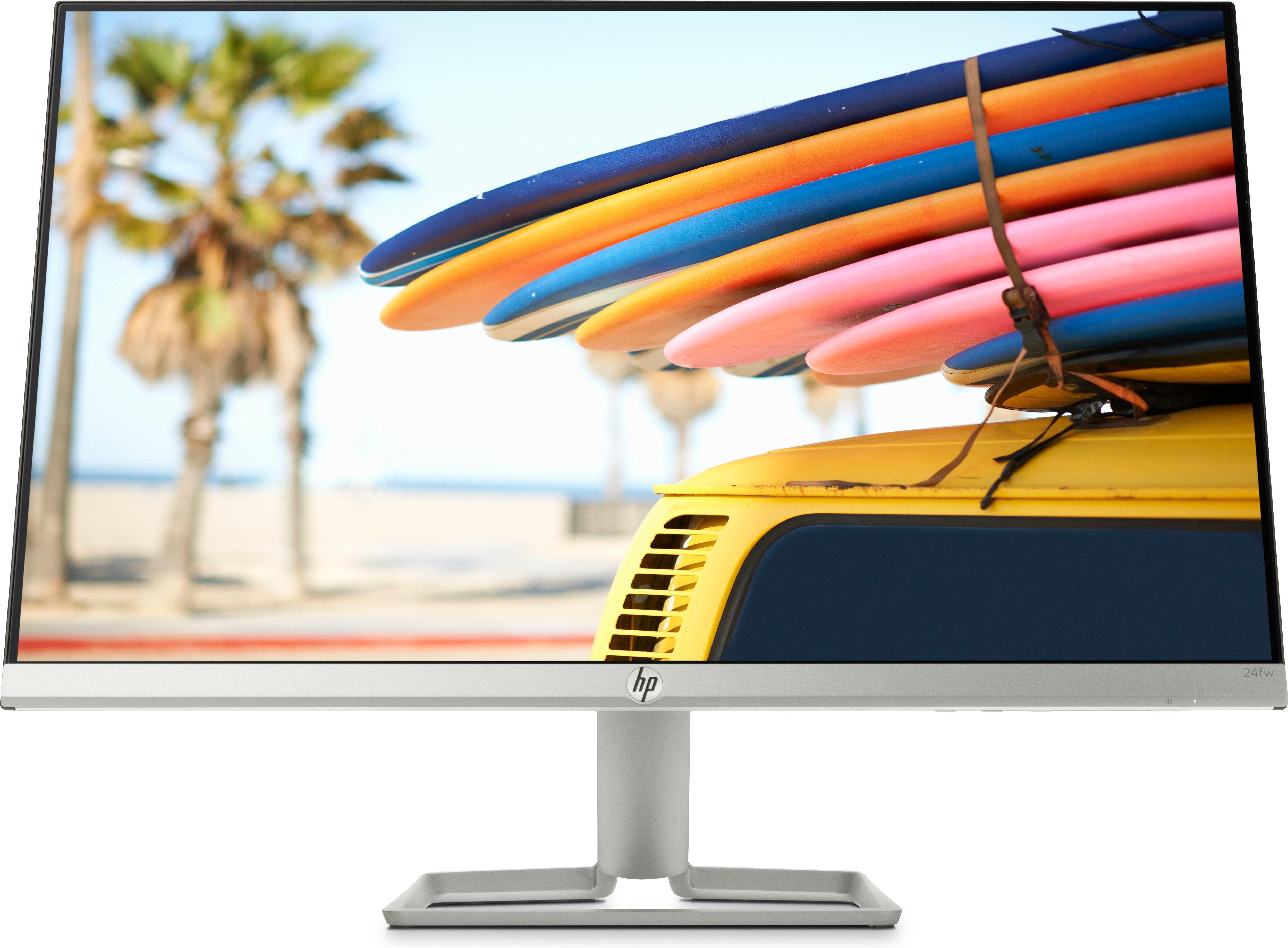 "HP 24fw LED display 60,5 cm (23.8"") Full HD Argent"