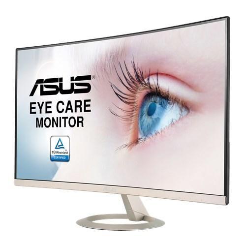 "ASUS VZ27VQ 27IN WLED 1920X1080 LED display 68,6 cm (27"") Full HD Incurvé Noir, Or"