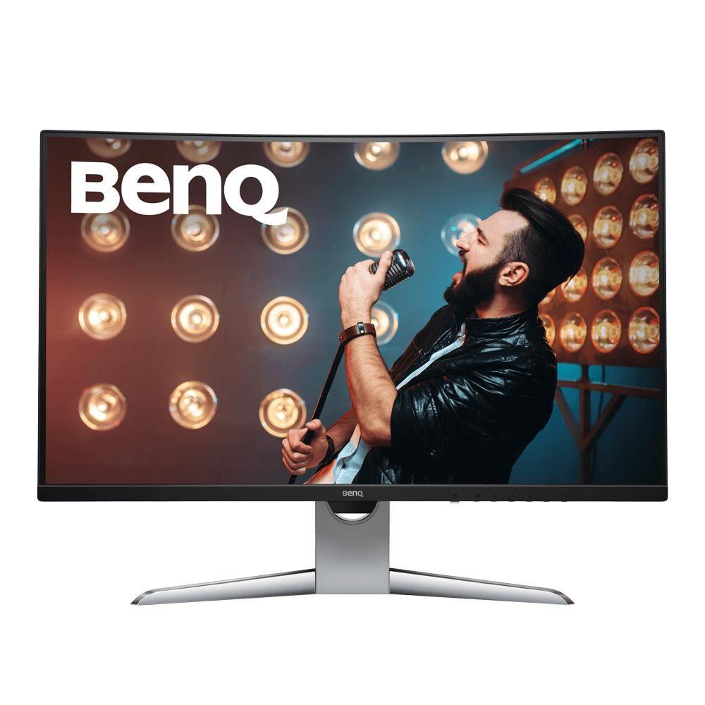 """BENQ EX3203R écran plat de PC 80 cm (31.5"""") Quad HD LED Incurvé Noir, Argent"""