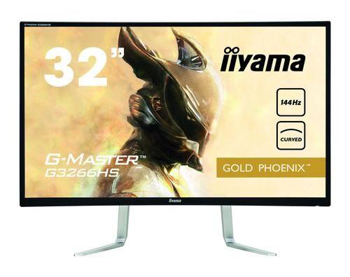 """IIYAMA G-MASTER G3266HS-B1 écran plat de PC 80 cm (31.5"""") Full HD LED Courbé Mat Noir"""