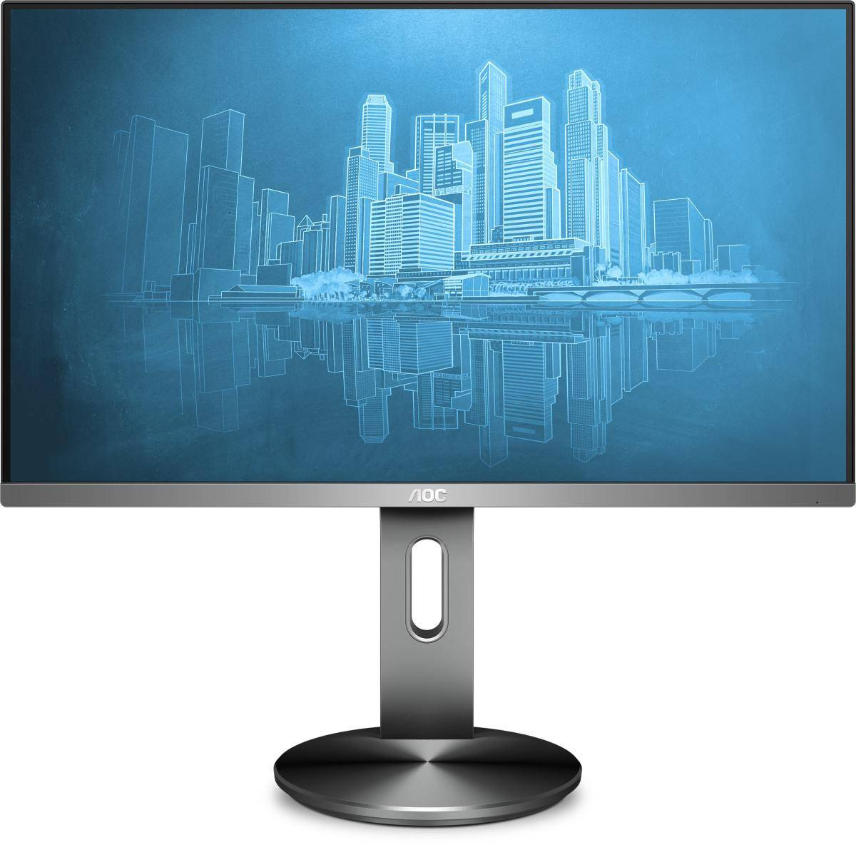 """AOC Pro-line I2490PXQU/BT écran plat de PC 60,5 cm (23.8"""") Full HD LED Gris"""