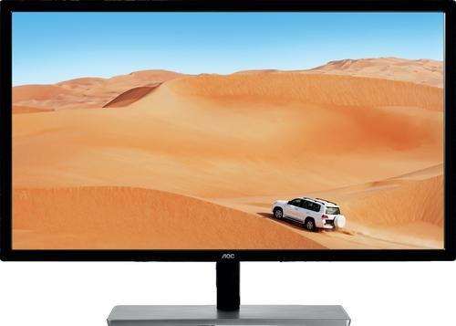 """AOC Value-line Q3279VWF écran plat de PC 80 cm (31.5"""") Quad HD LED Noir, Argent"""