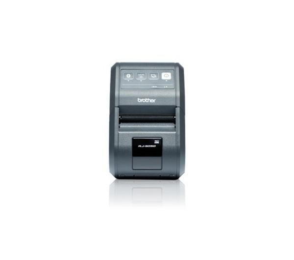 BROTHER RuggedJet RJ-3050 - Imprimante d'étiquettes - monochrome - thermique directe - Rouleau (8 cm) - 203 dpi - jusqu'à 127 mm/sec - Wi-Fi(n), USB 2.0, Bluetooth 2.1 EDR