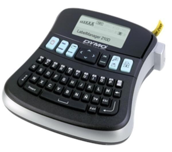 DYMO Etiqueteuse LabelManager 210D noir / argent, incl. cas pour l'industrie, les métiers et les bureaux électriques étiqueteuse Tapes: 6, 9, 12 mm