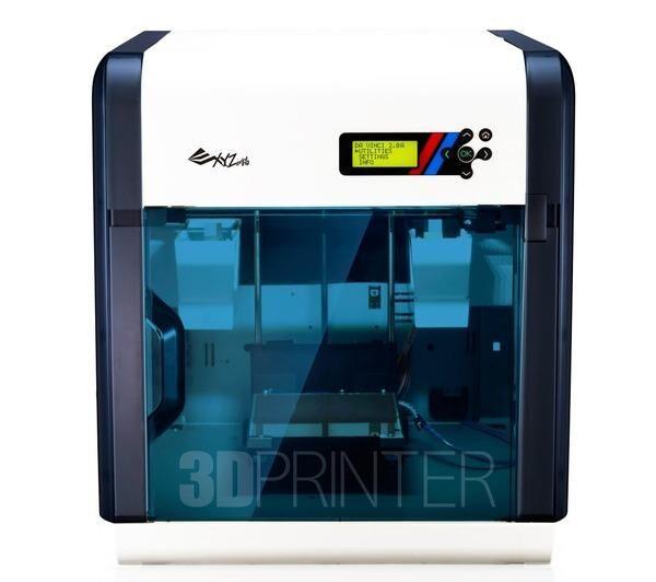 XYZ da Vinci 2.0A Duo - Imprimante 3D - FFF - taille de construction jusqu'à 200 x 200 x 150 mm - couche : 0.1 mm - USB 2.0