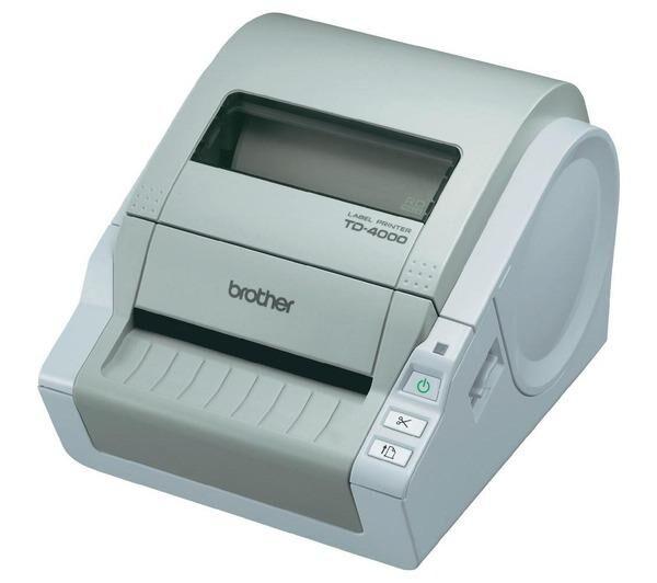 BROTHER Imprimante d'étiquettes thermique directe TD-4000